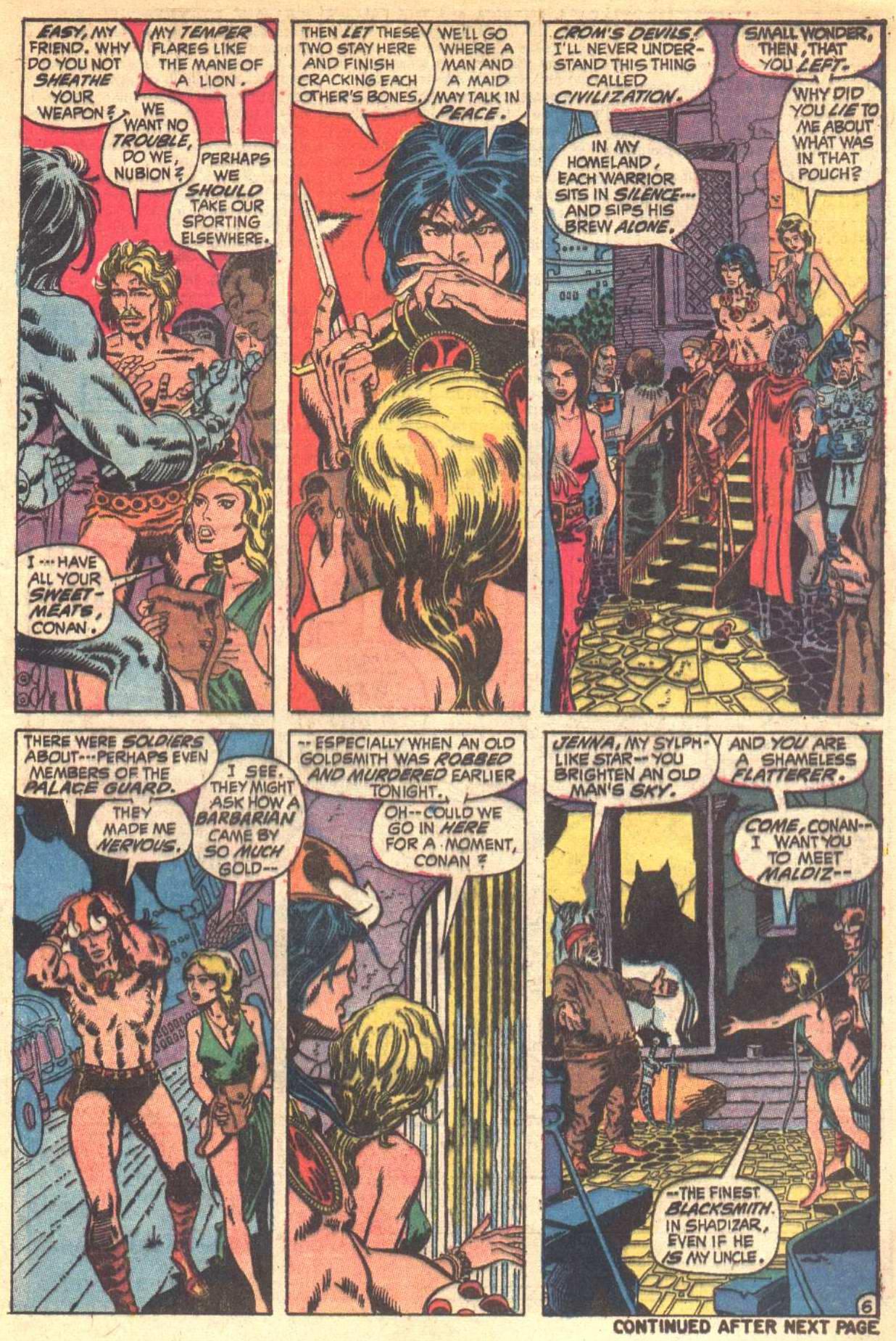 Conan the Barbarian (1970) Issue #6 #18 - English 7