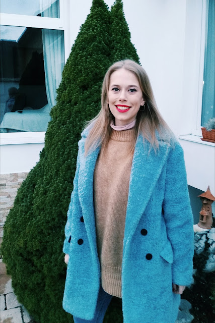 Azure Blue Coat