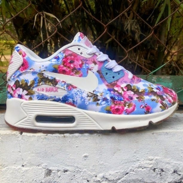 pretty nice a7be4 8b13e ... uk nike air max 90 floral grade ori sport women terbaru 2015 f0b24 b1ab5