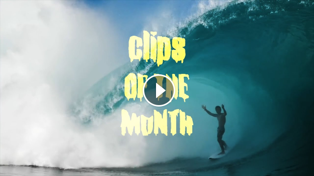 A Locals-Only Session at Maxed-Out Teahupo o Tops Clips of the Month for May