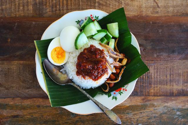 Seasaltwithfood How To Make Nasi Lemak Kukus