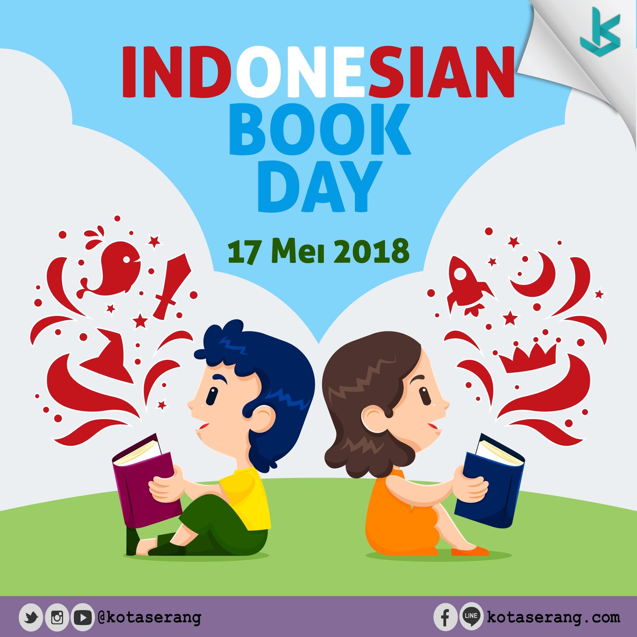 Gambar Vector - Hari Buku Nasional 2018