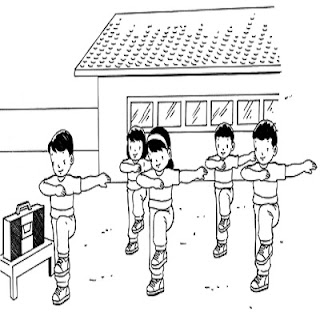 Soal Ulangan Harian Penjaskes Kelas 4 SD Materi Gerak Ritmik