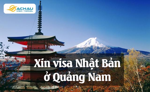 Xin visa Nhật Bản ở Quảng Nam