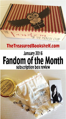 Fandom of the Month Club Subscription Box Review by The Treasured Bookshelf