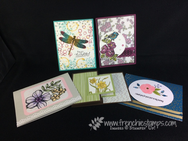 Petal Palette, Dragonfly Dream, Petal Passion, You're Inspiring, Perennial Birthday, Stampin'Up!