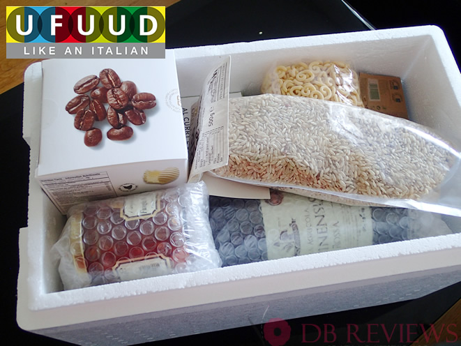 Ufuud online distributer of high-end Italian food products