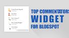 Tạo widget Top những người bình luận nhiều nhất cho Blogspot