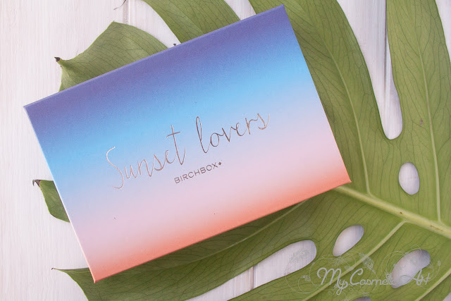 Sunset Lovers, la Birchbox de Mayo de 2017