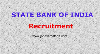 STATE BANK OF INDIA - Recruitment