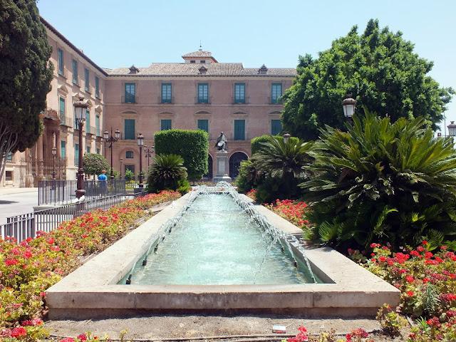 paseos y jardines en Murcia