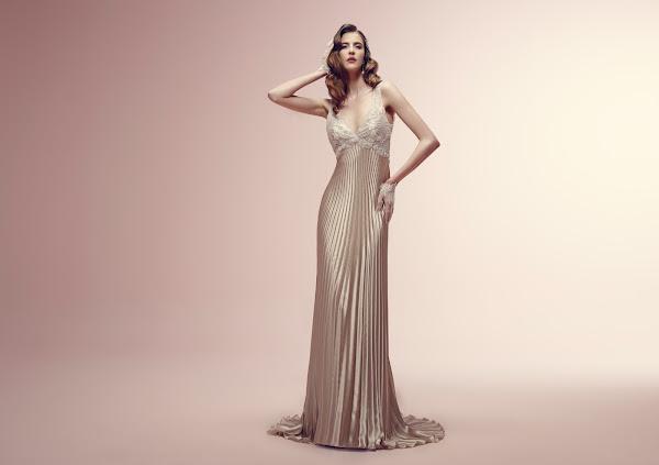 abito da sposa a sirena, Alessandra Rinaudo 2014