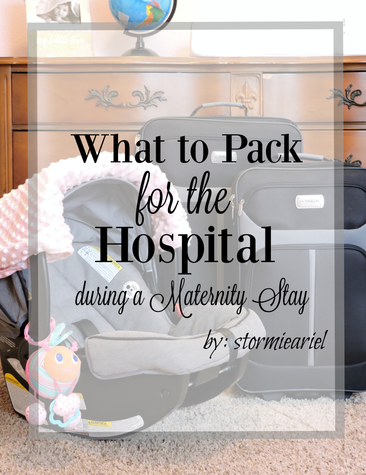 What to Pack for the Hospital during a Maternity Stay