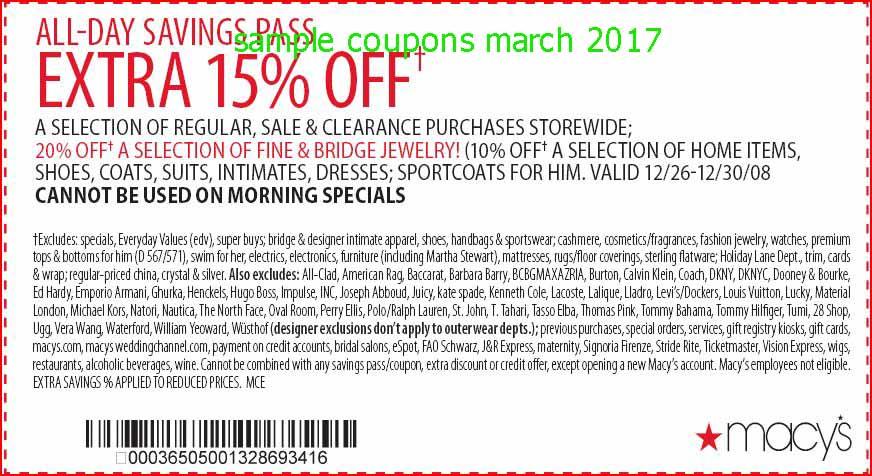 Macys coupon codes 2019