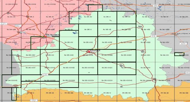 Карты Беларуси для навигаторов Magellan