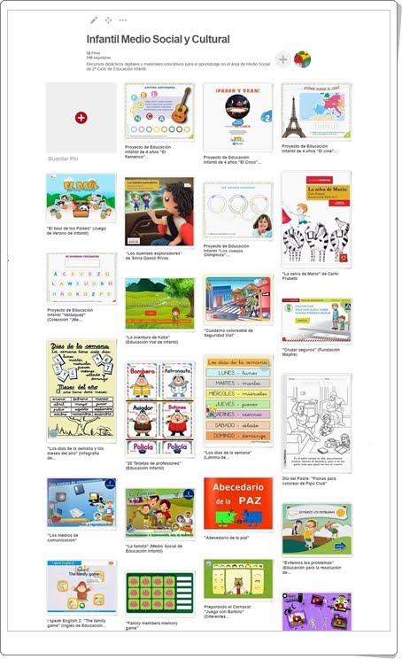 """""""Conjunto de juegos y actividades de Medio Social y Cultural de Educación Infantil"""""""