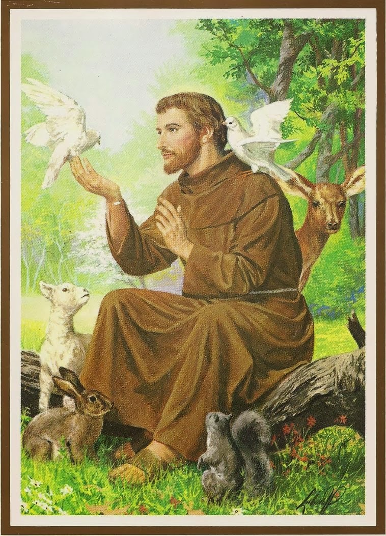 St Francis of Assisi – Remarkable saint of the Twelfth / Thirteenth century who returned to the roots of the gospels, voluntarily accepting a life of poverty and chastity.