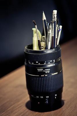 reciclando cámaras de fotos