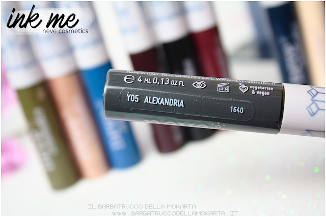 ALEXANDRIA INKME EYELINER NEVE COSMETICS REVIEW RECENSIONE