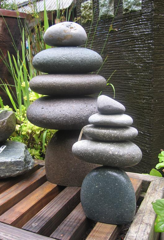At Home Perfect Beauty Stacked Rocks