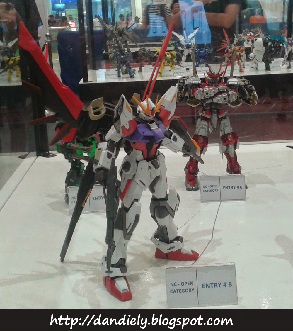 Aile Strike - Gunpla Entries and Exhibit - Gundam Model Kit Contest 2014 Philippines
