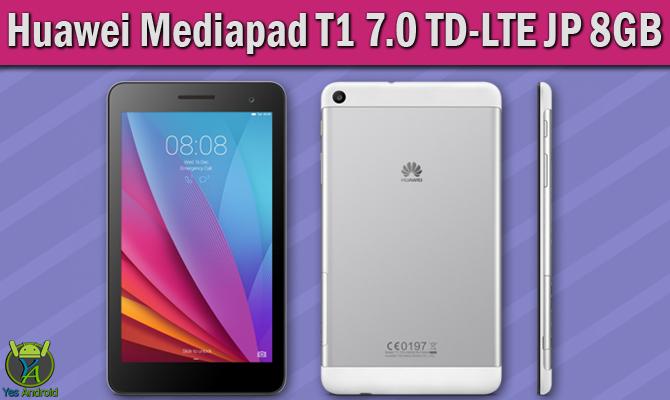 Huawei Mediapad T1 7.0 TD-LTE JP 8GB Full Specs Datasheet