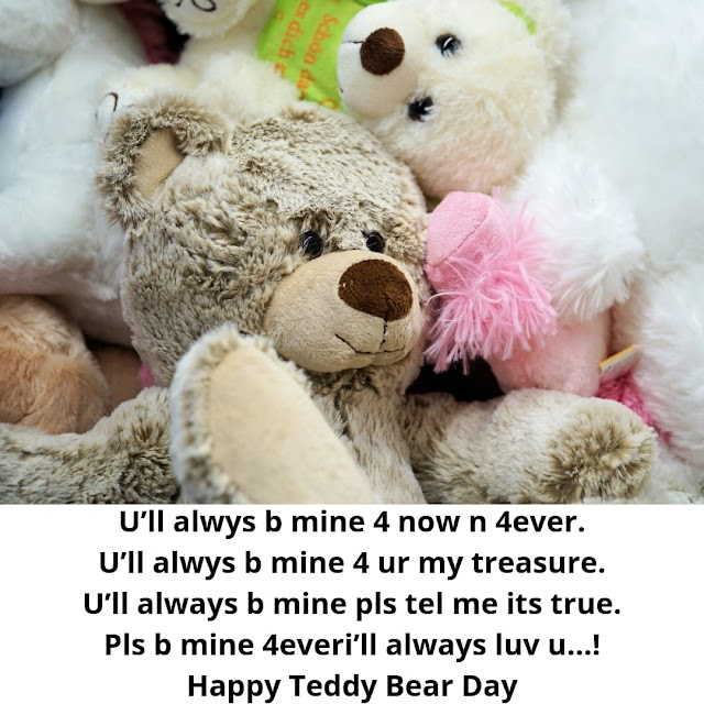 Best Teddy Day Quotes Collection