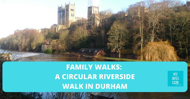 north east Family Walks - A Circular Riverside Walk in Durham