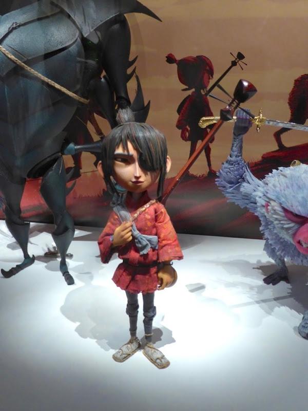 Kubo stop-motion animation puppet