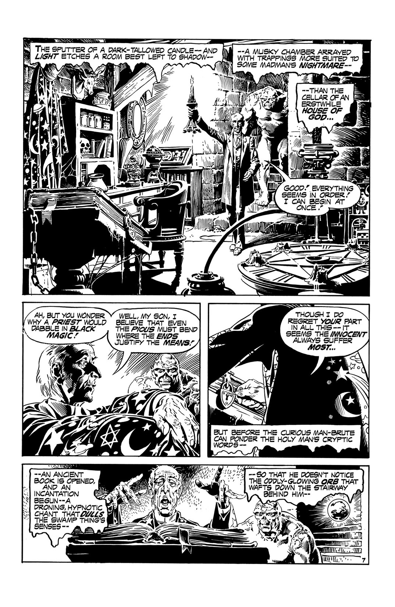Swamp Thing (1972) Issue #15 #15 - English 8