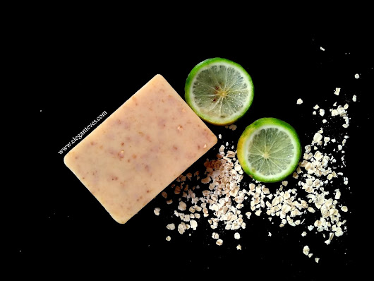 Elegant Eves: Gia Bath & Body Works Sweet Orange and Oats Soap Bar Review