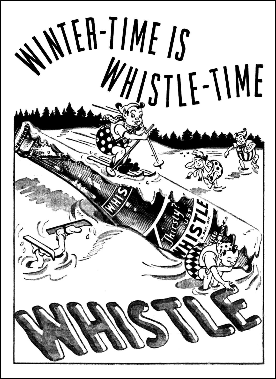 Whistle - published in the Loraine Journal - Loraine, Ohio U.S.A. - December 17, 1947