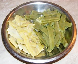 retete cu fasole pastai verde si galbena, preparate din fasole pastai verde si galbena, fasole fiarta pentru salata, retete culinare,