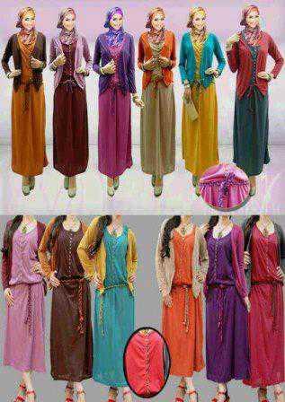 Trend Baju Gamis Muslimah 2013