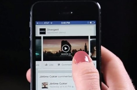 How do you share a video on facebook