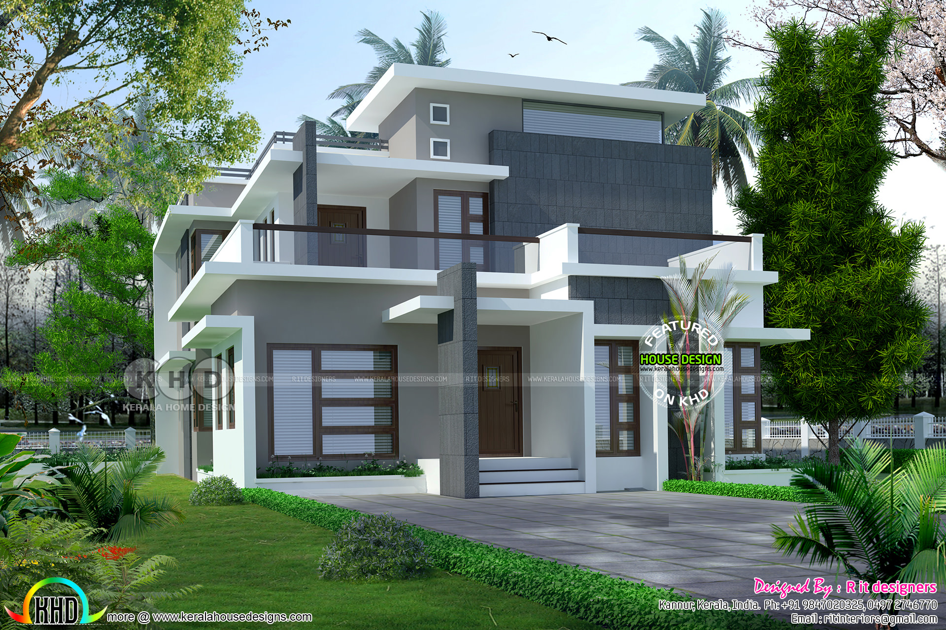 2238 sq-ft modern contemporary house in Kerala - Kerala ...