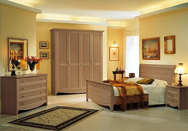 diseño dormitorio clásico