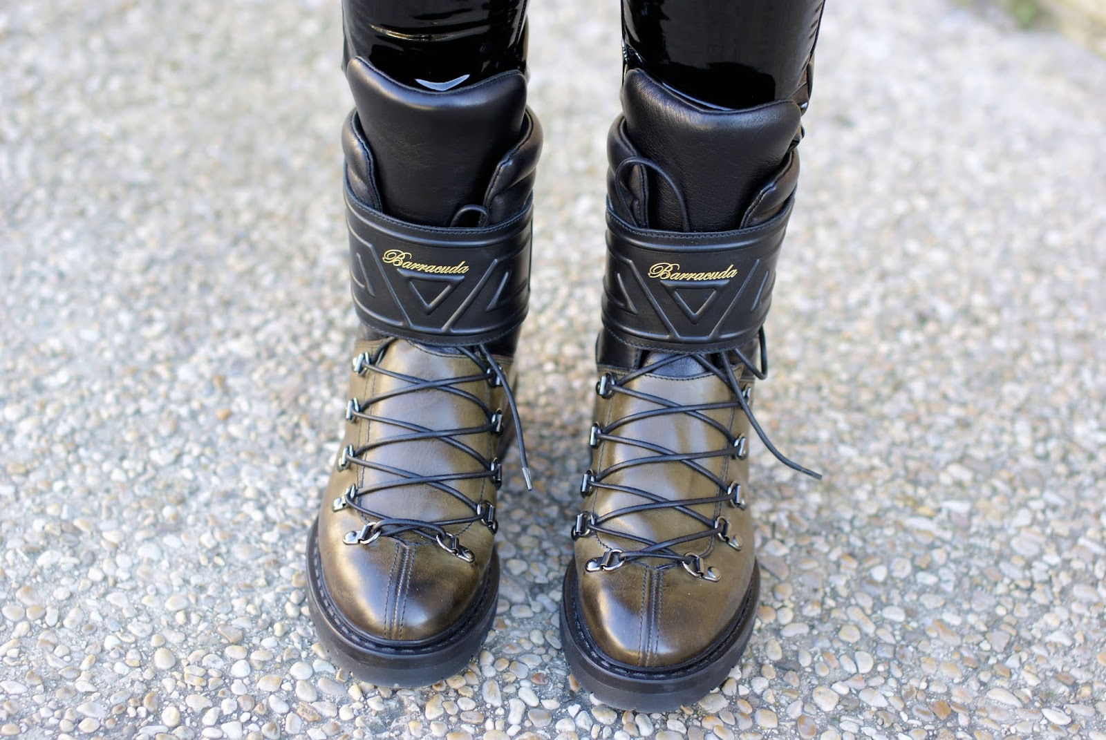 Barracuda combat boots Fashion and Cookies fashion blog, fashion blogger