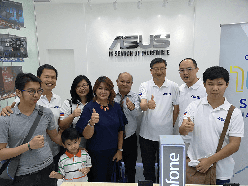 ASUS Philippines opens their 100th store in Ayala Mall Feliz