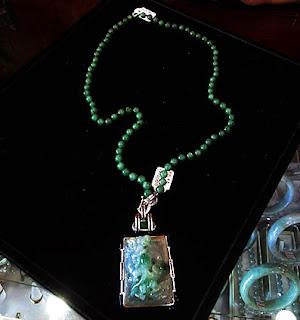 Beautiful beaded chain and pendant