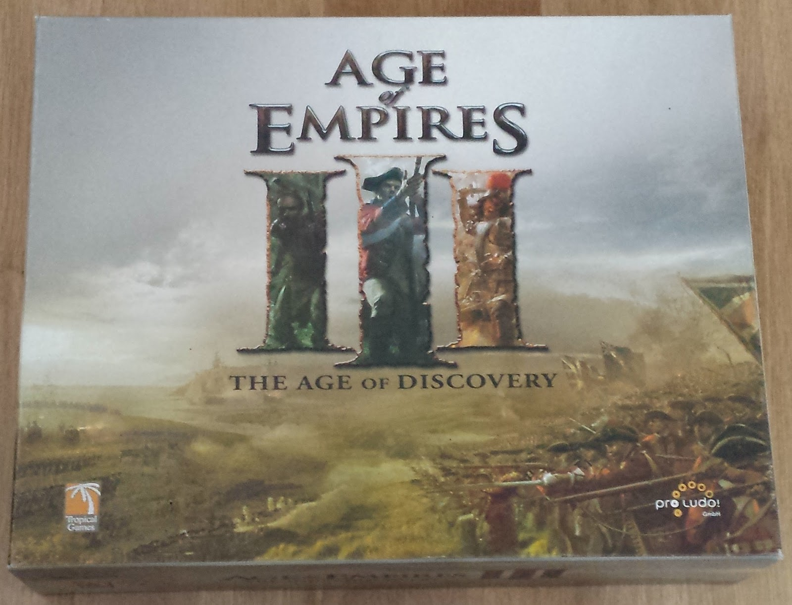Age Of Empires Iii Is Reborn As Empires Age Of Discovery: Age Of Empires III/ Empires: Age Of Discovery