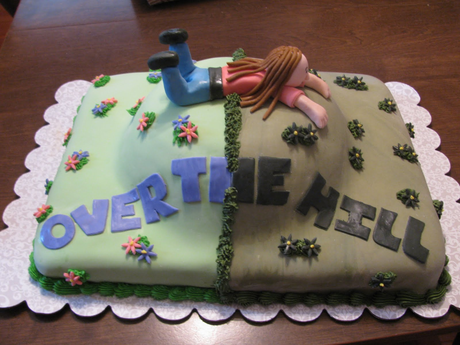 Homemade By Heather 33 Over The Hill Cake Take 1