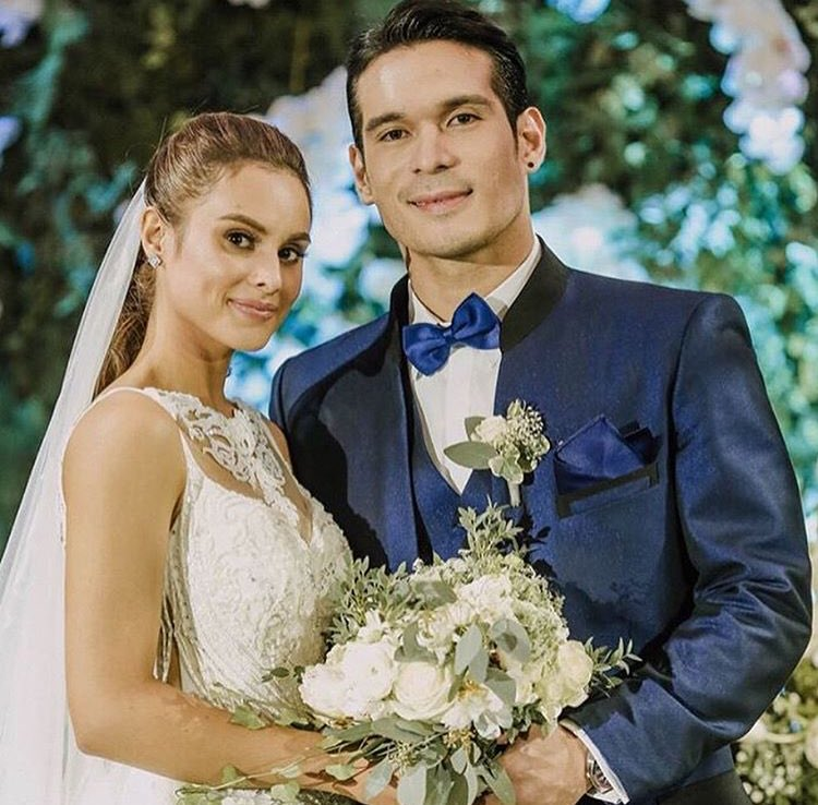 Pancho Magno Happy To Work Together With His New Bride, Max Collins ...