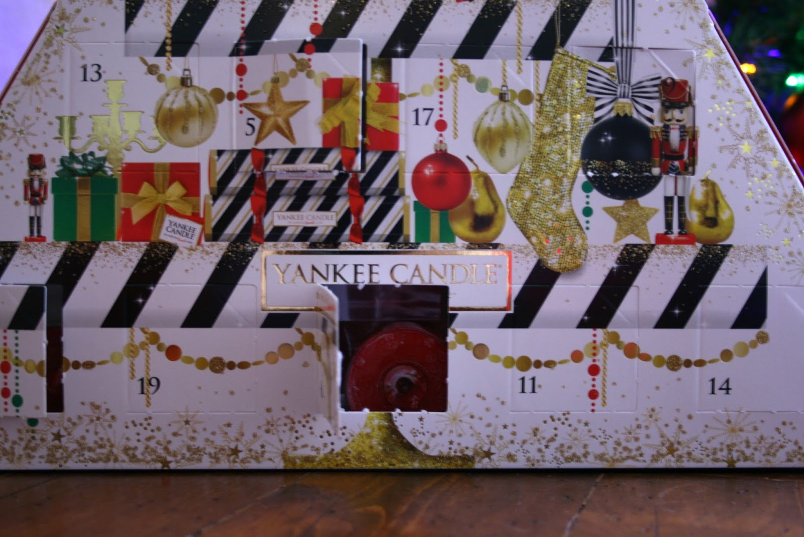 Blogmas Day 15 Yankee Candle Advent Calendar