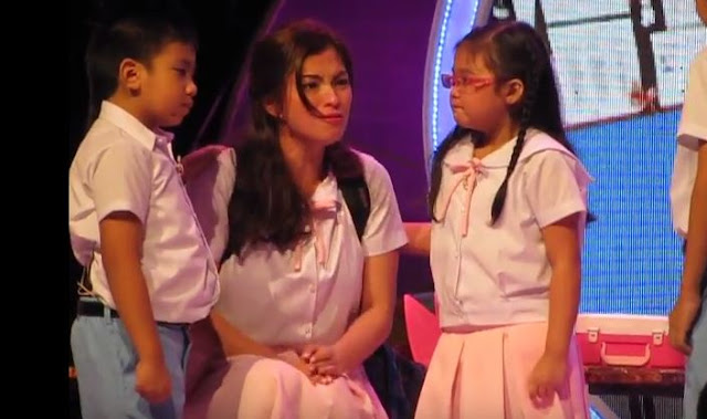 Angel Locsin Showcased Her Over The Top Acting Skills As A Little School Girl!