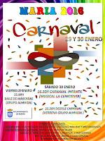 Carnaval de María 2016