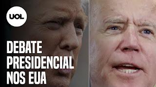 """Debate nos EUA: Donald Trump e Joe Biden – Erro no caso Adnet – Bolsonaro diz """"au, au"""""""
