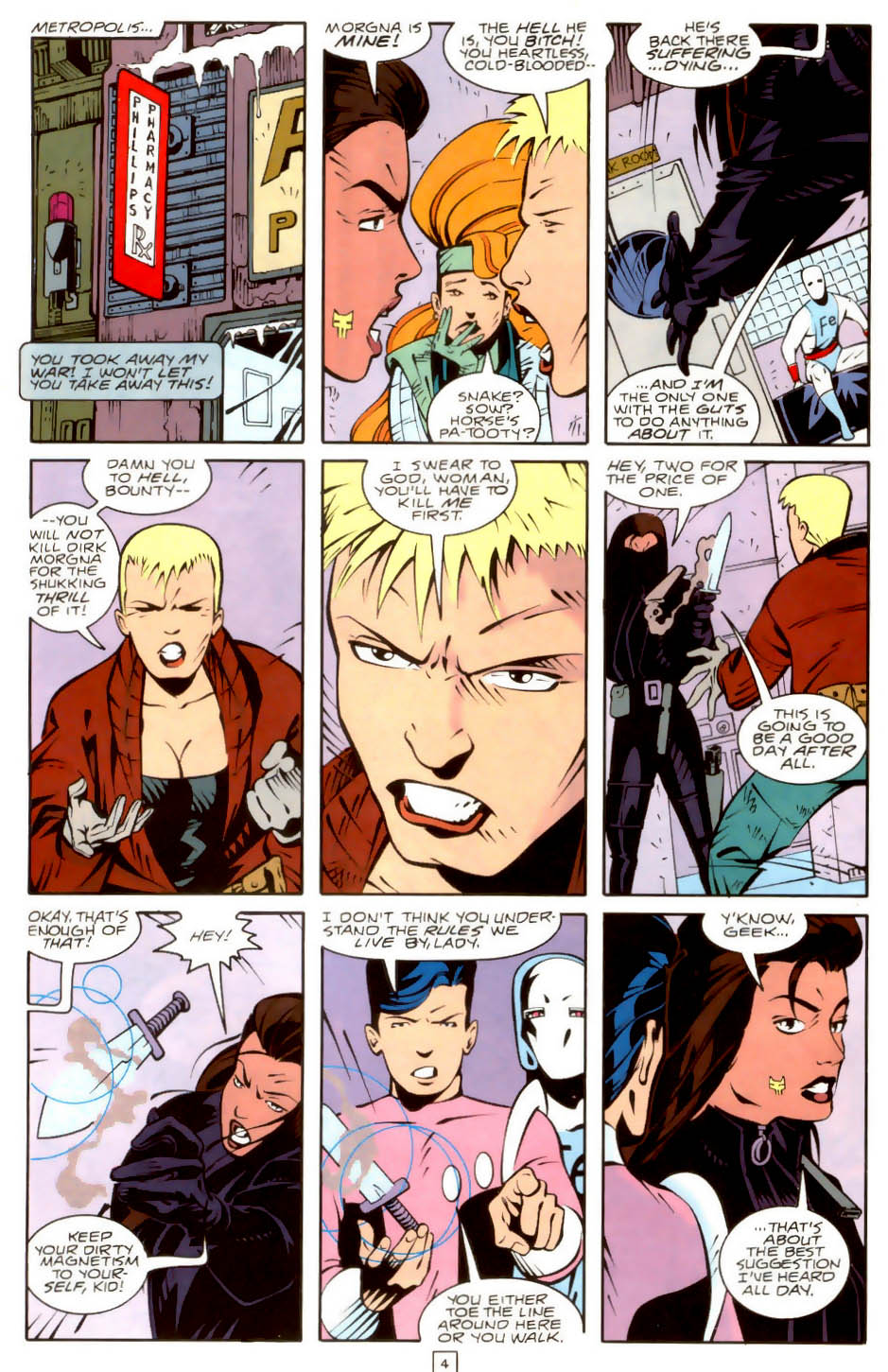 Legion of Super-Heroes (1989) 36 Page 4