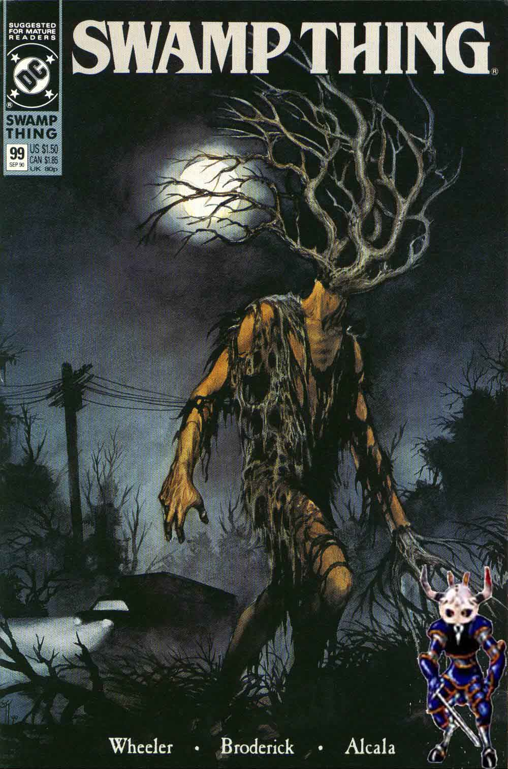 Swamp Thing (1982) Issue #99 #107 - English 1
