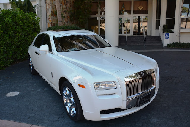 Miami Beach cars Rolls Royce